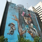Global Street Artists Make Protest Murals of Mexico City Buildings
