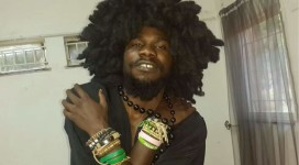 Pilato was met by a number of musicians and sympathizers outside of court in Zambia's capital of Lusaka (Chama Fumba.)