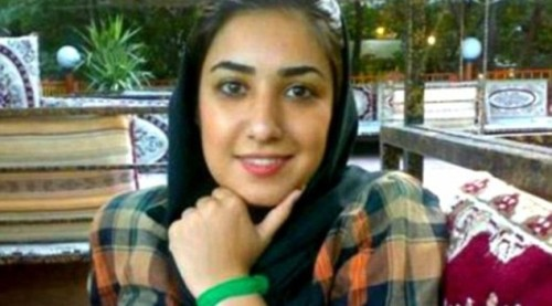 Atena Farghadani, pictured prior being sentenced to Iran's highest-security prison over her drawing (Facebook.)