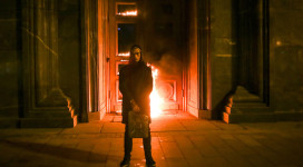 Pavlensky - FSB headquarters.