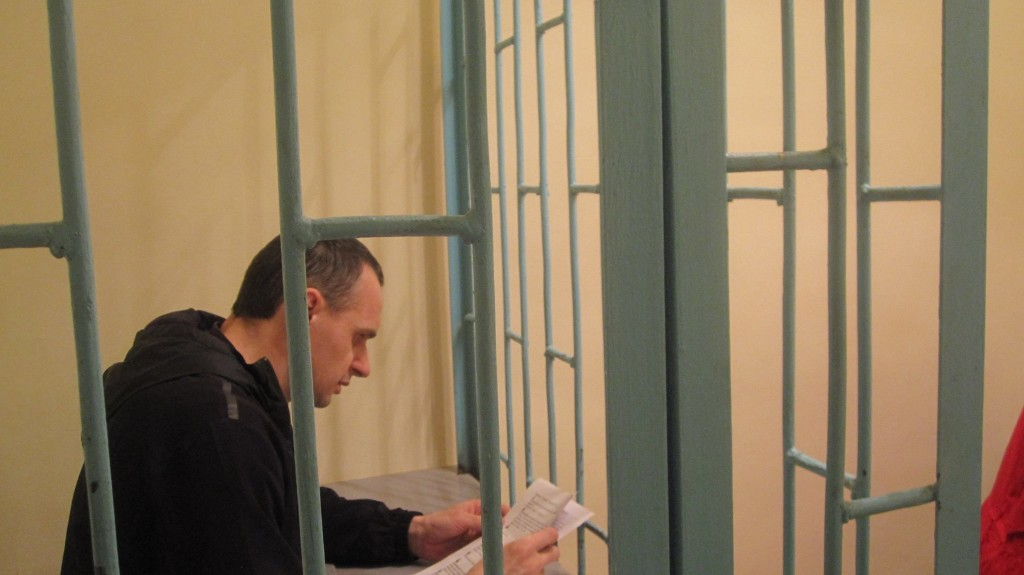 Oleg Sentsov is able to receive letters while imprisoned, even while his location is undisclosed (Tatiana Shchur.)