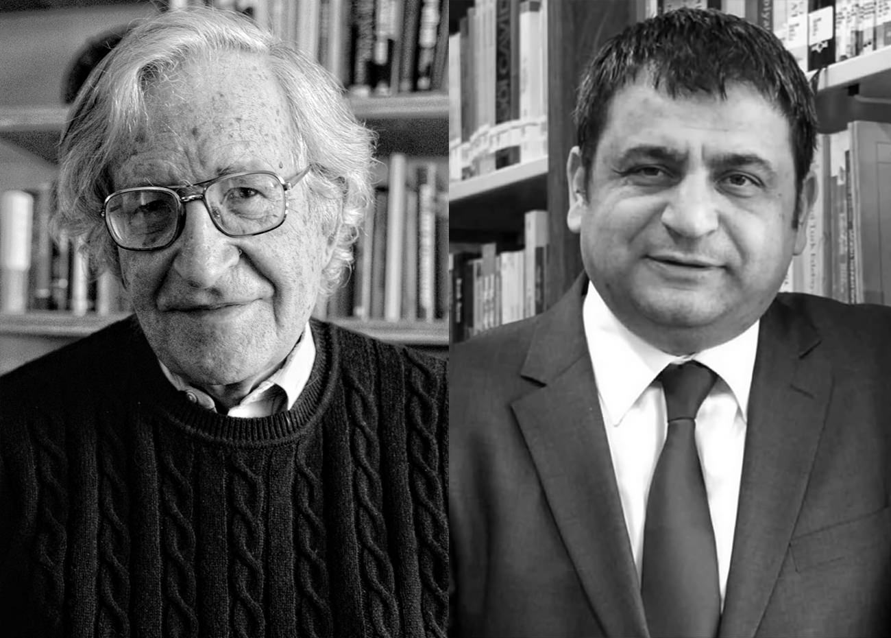 Noam Chomsky and Sedat Laciner