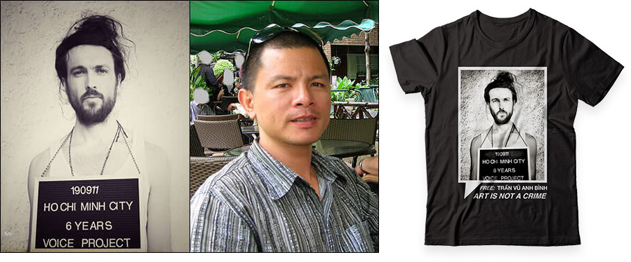Imprisoned for Art Tran Vu Anh Binh